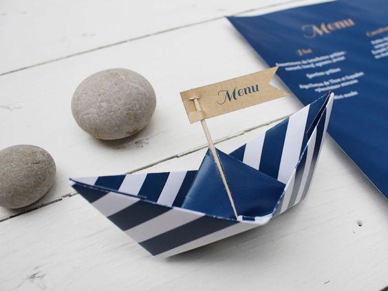 menu mariage mer/océan