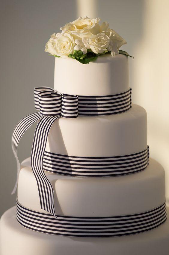 gâteau mariage mer/océan