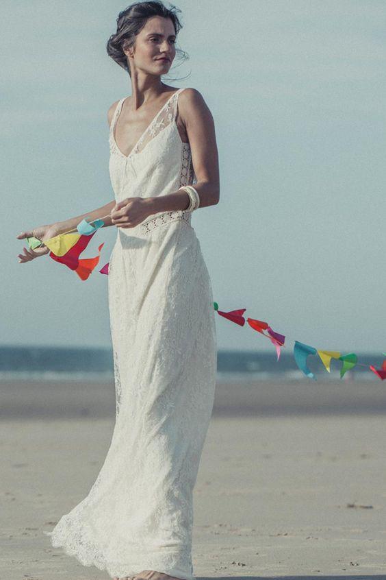 robe mariage mer/océan
