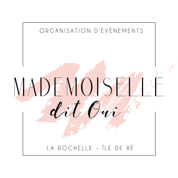 Logo Mademoiselle Dit Oui île de ré