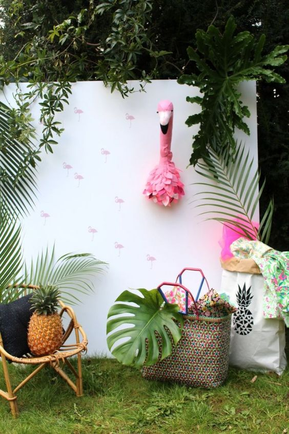 Photo Booth tropical