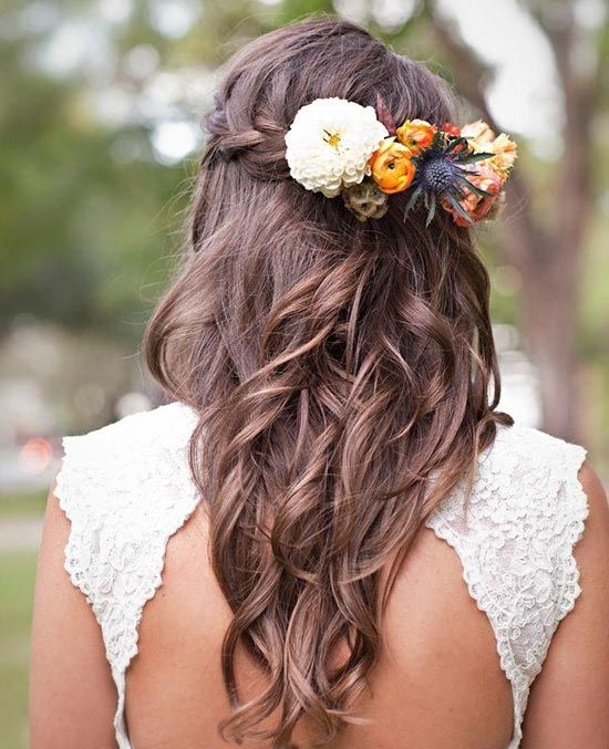 Les coiffures de mariage
