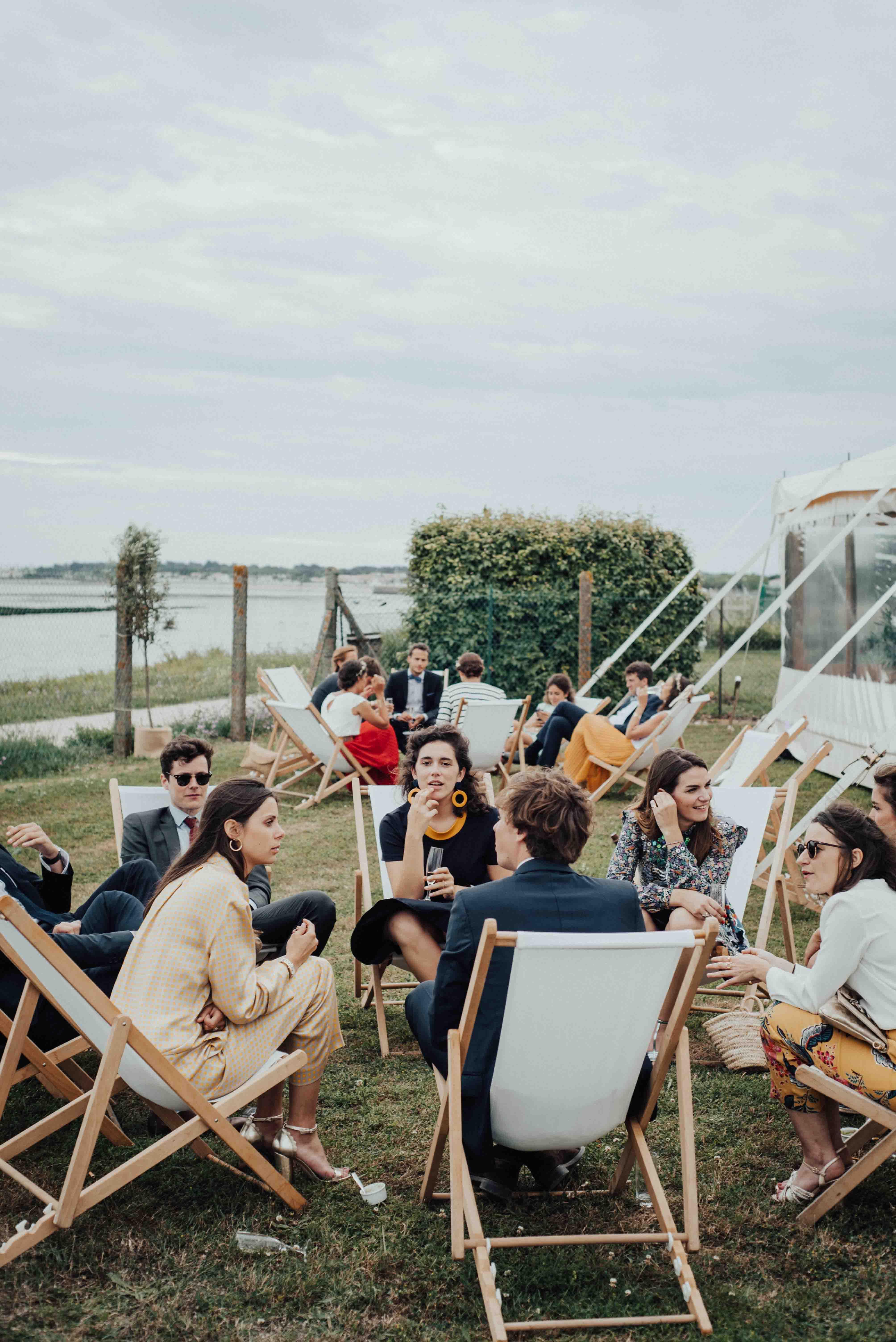cocktail mariage vue mer ile de re ostreiculteur