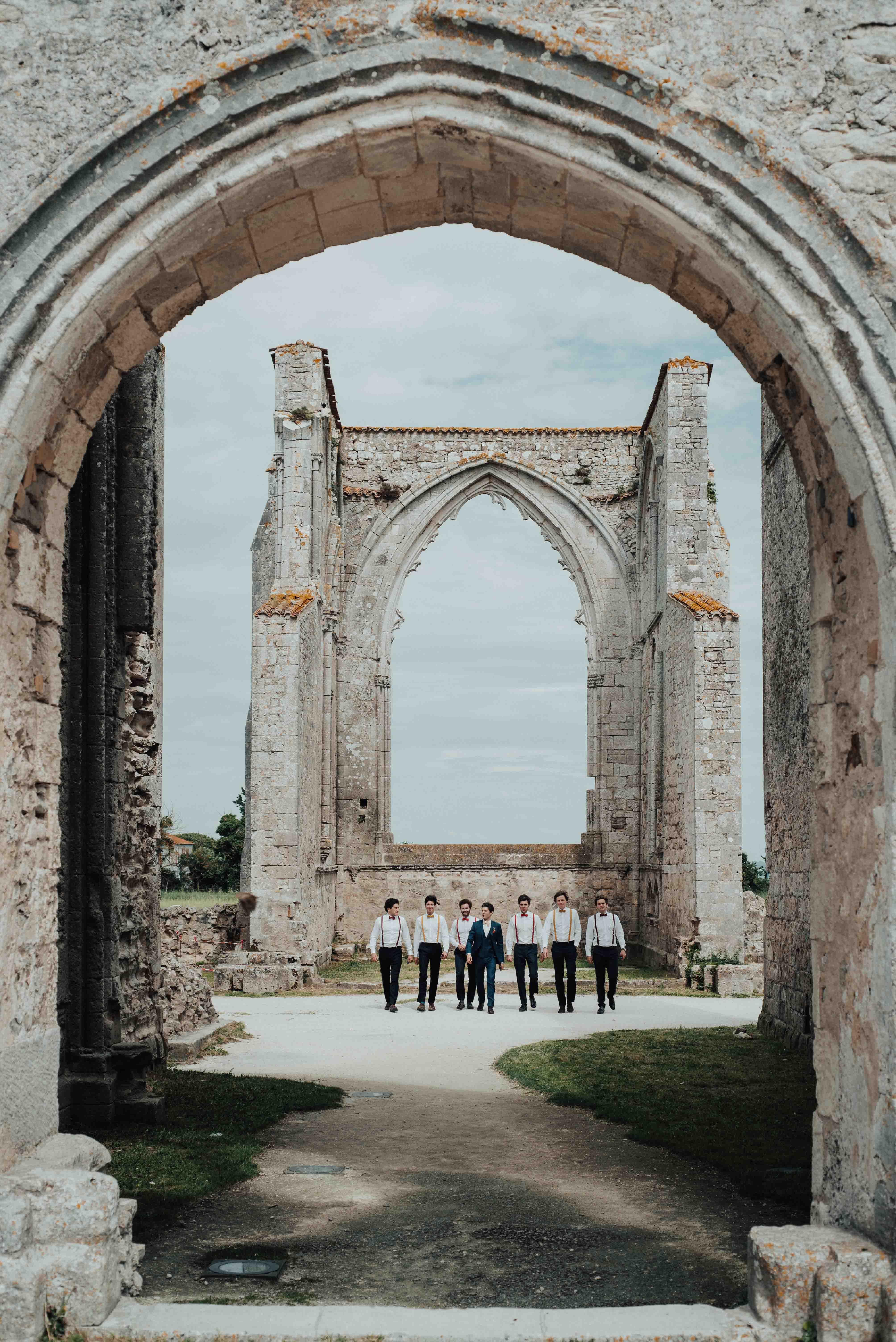 lieu mariage ile de re abbaye des chateliers