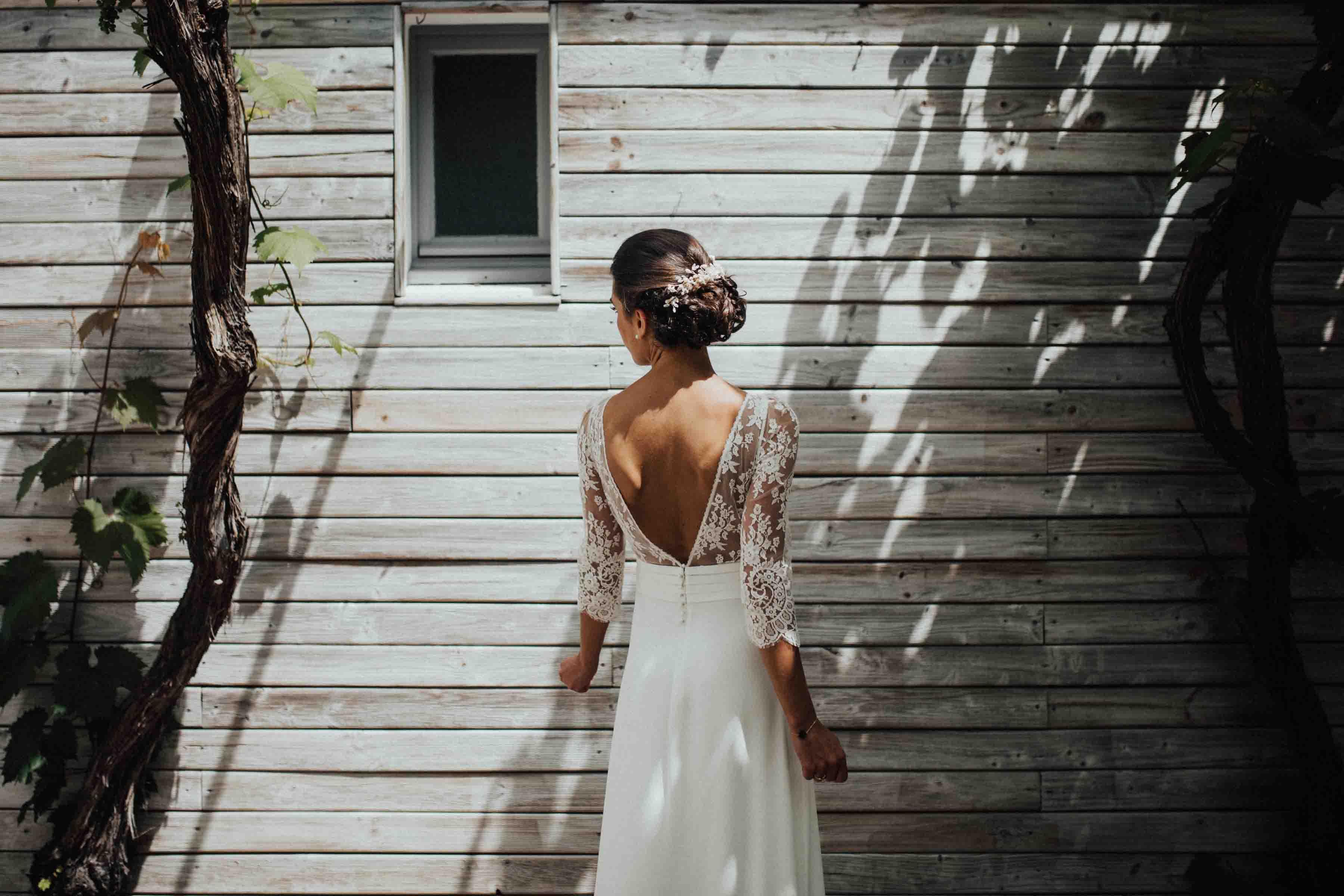mariage ile de re robe Laure de Sagazan