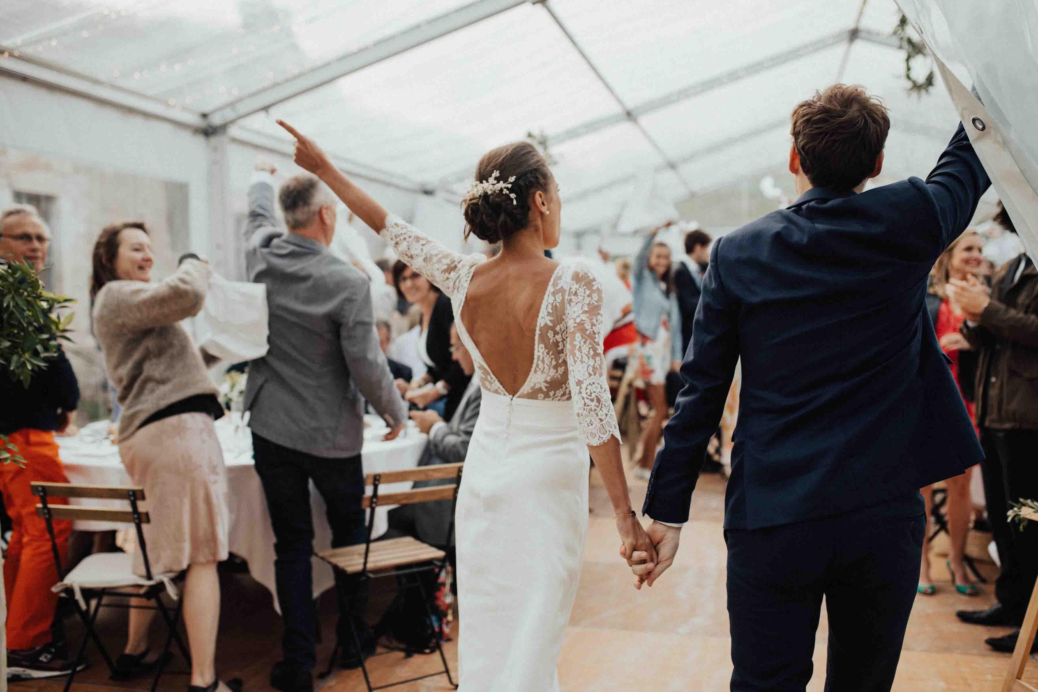 mariage sous tivoli tente fort de la pree