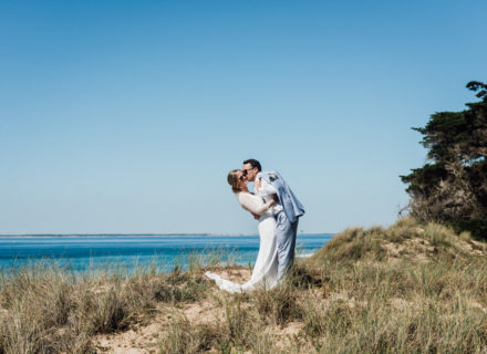 wedding planner ile de ré photo couple