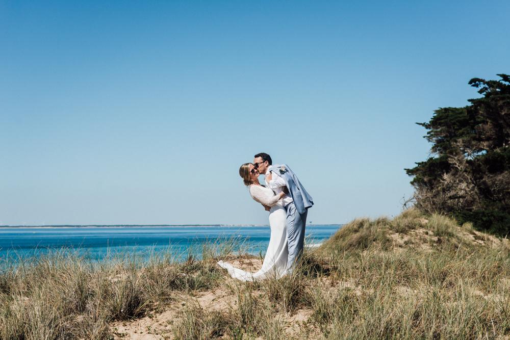 wedding planner ile de ré photo couple