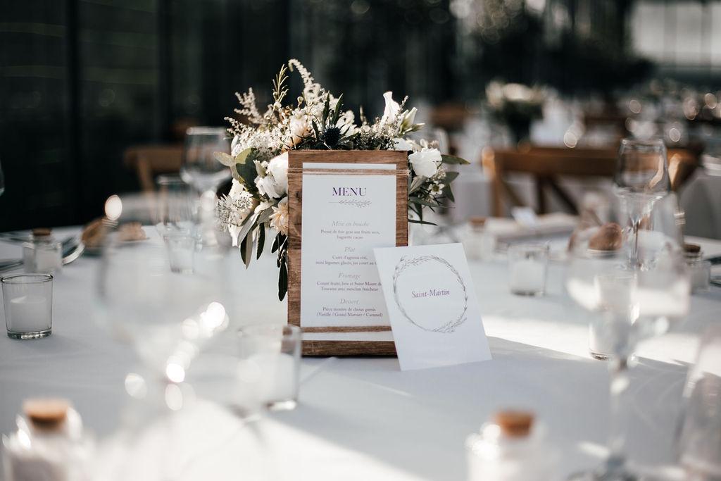 decoration de mariage ile de re