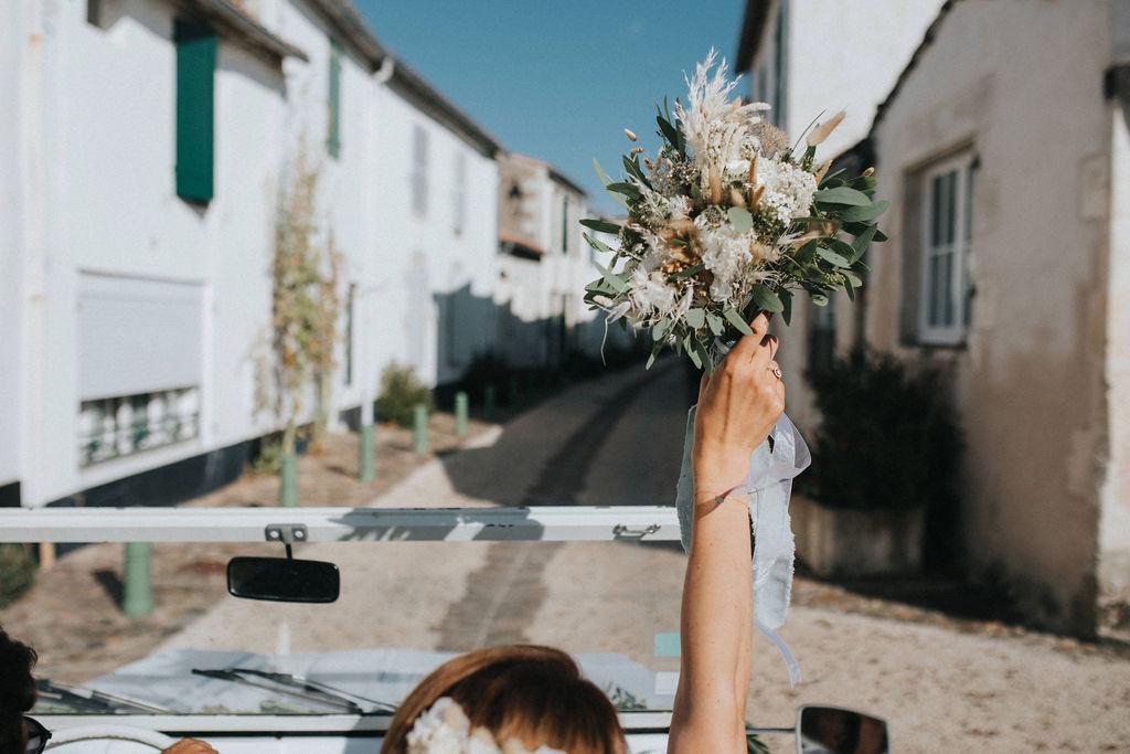 fleuriste mariage ile de re