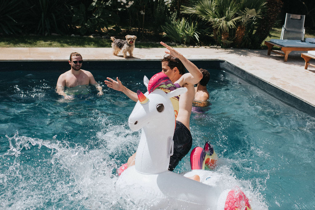 pool party mariage ile de re mademoiselle dit oui